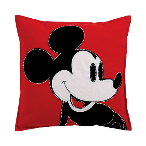 Color Block Mickey Mouse Pillow, Mickey's Shorts ,  , large