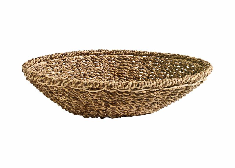Woven Low Bowl ,  , large_gray