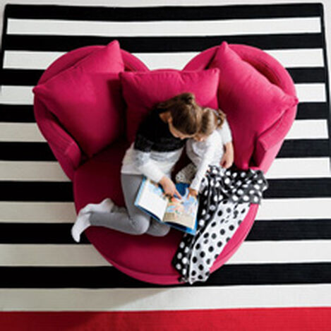 Mickey Mouse Stripe Rug ,  , hover_image