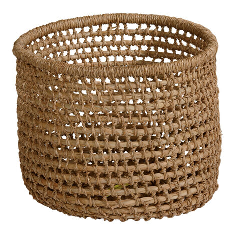 Small Handwoven Flo Basket ,  , large