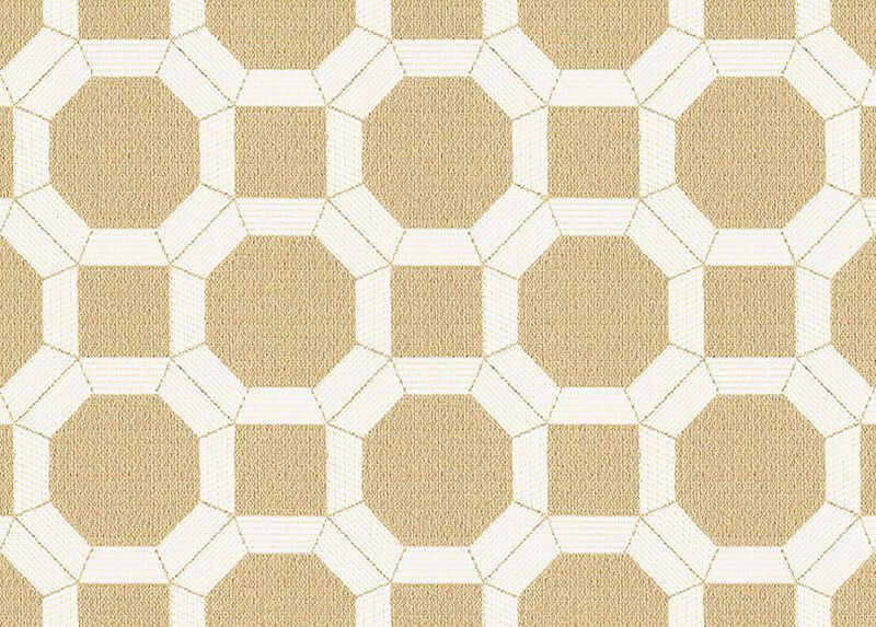 Reston Parchment Fabric by the Yard
