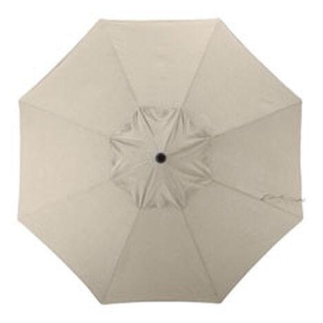 9' Single Vent Taupe Umbrella ,  , hover_image