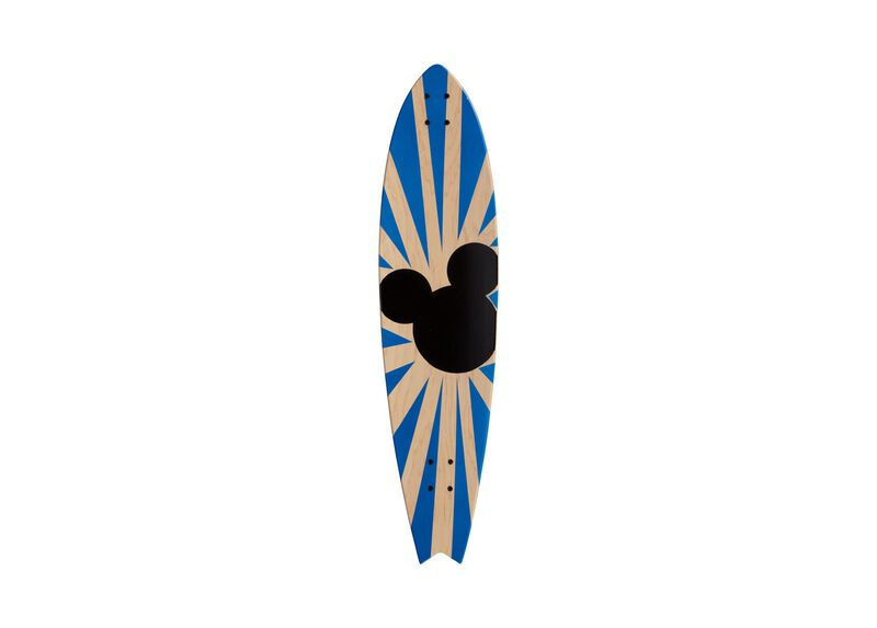 Mickey Mouse Longboard Wall Art I