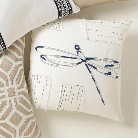 Dragonfly Patch Pillow Product Tile Hover Image 065689