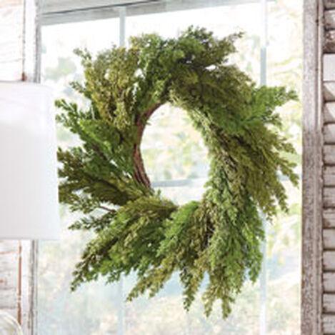 "30"" Cedar Wreath Product Tile Hover Image 442238"