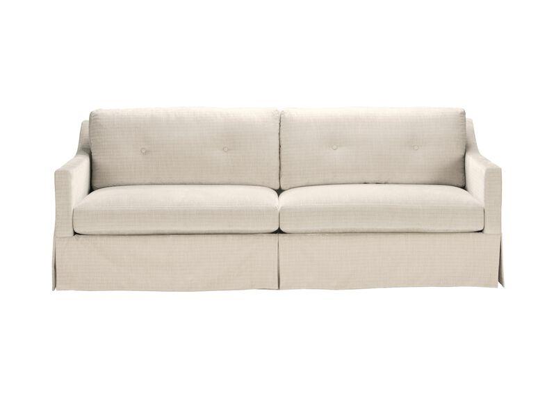 Monterey Skirted Sofa ,  , large_gray