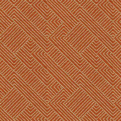 Hadi Tangerine Fabric By the Yard Product Tile Image 77462