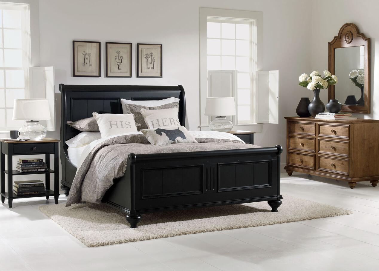 robyn bed beds ethan allen. Black Bedroom Furniture Sets. Home Design Ideas