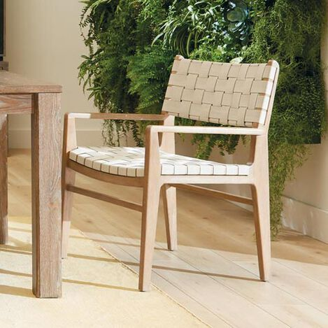 Marteen Woven Dining Armchair Product Tile Hover Image 226530A