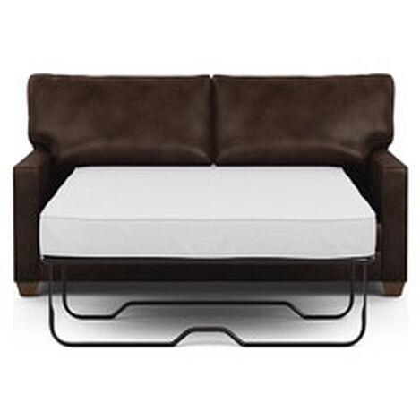 Bennett Track-Arm Leather Full Sleeper Sofa ,  , hover_image
