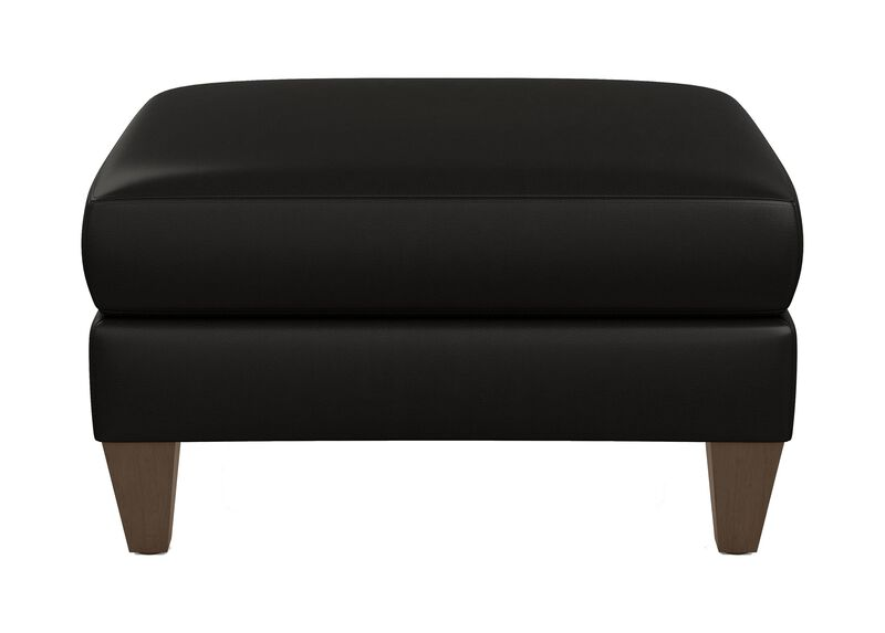 Monterey Leather Ottoman ,  , large_gray