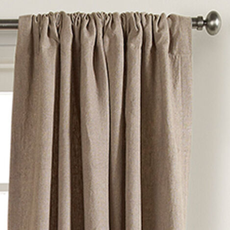 Natural Sayre Washed Linen Rod-Pocket Panel ,  , hover_image