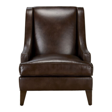 Emerson Leather Chair, Quick Ship Product Tile Image 677531