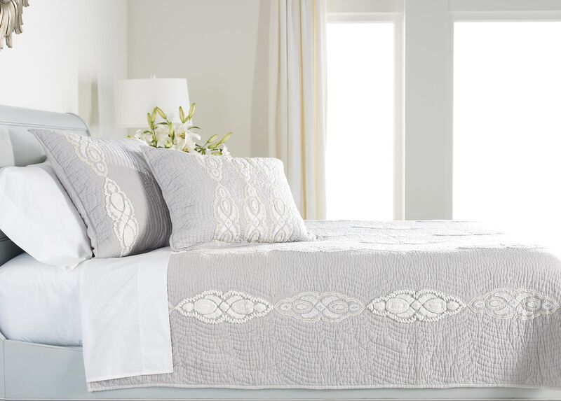 Giorgina Embroidered Quilt ,  , large_gray