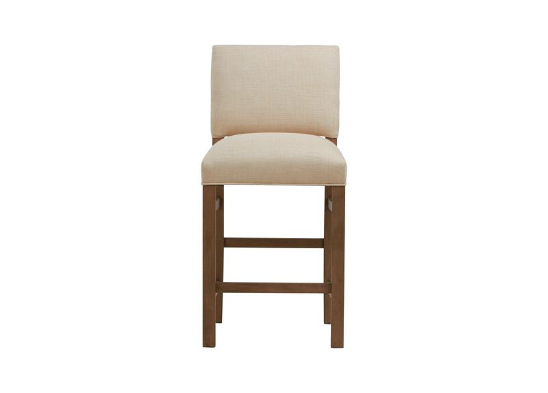 Hadley Counter Stool, Straight Top and Square Leg ,  , large_gray