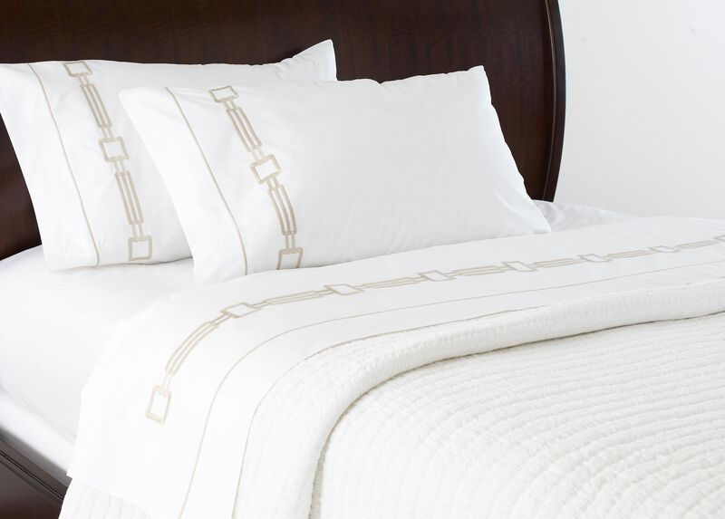 Camdyn Embroidered Sheets at Ethan Allen in Ormond Beach, FL | Tuggl