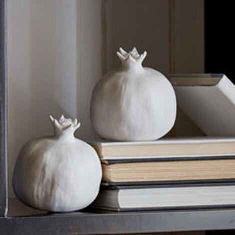 Matte White Pomegranate ,  , hover_image