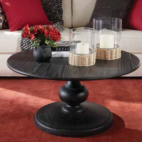 Alcott Pedestal Coffee Table Product Tile Hover Image 228390