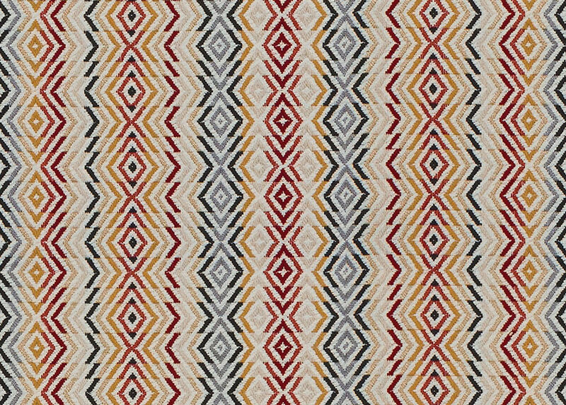 Ambrose Ruby Fabric by the Yard