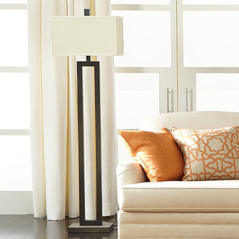 Stafford Bronze Floor Lamp Product Tile Hover Image 092857