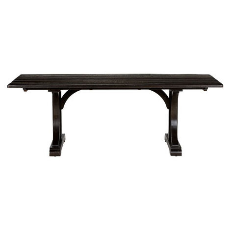 Corin Rough Sawn Trestle Dining Table ,  , large