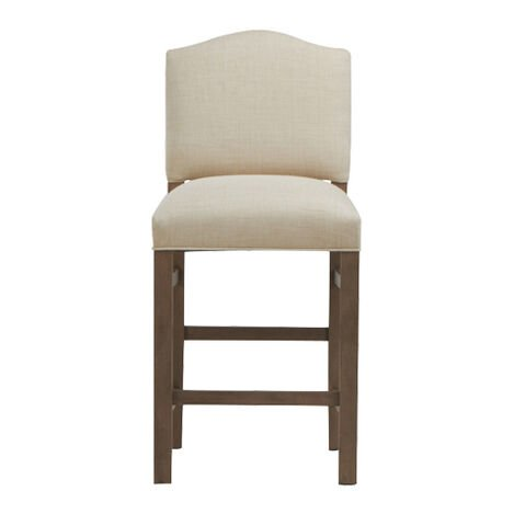 Hadley Counter Stool, Arched Top and Square Leg ,  , large