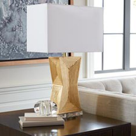 Saxon Geometric Table Lamp ,  , hover_image