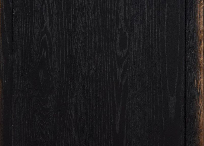 Rustic Black (608) Finish Sample