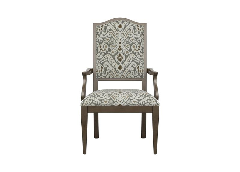 Hayden Tapered-Leg Armchair ,  , large_gray