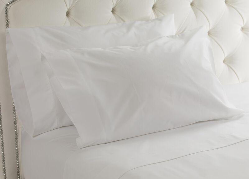 White Cotton Sheet Set ,  , large_gray