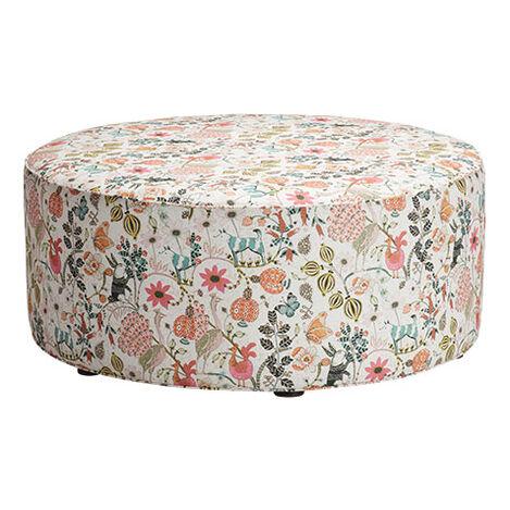 Karleigh Round Ottoman Product Tile Image G01020