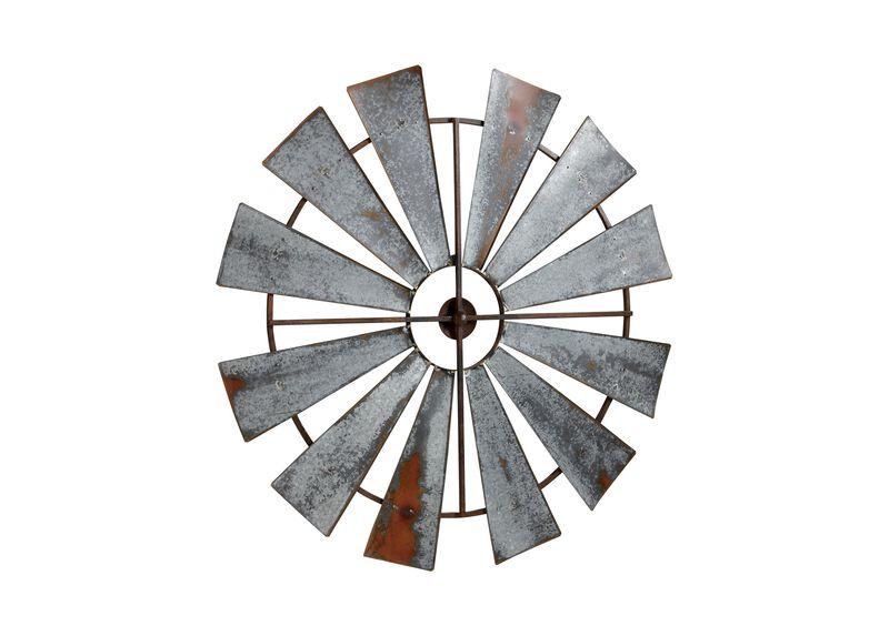 Large Metal Windmill
