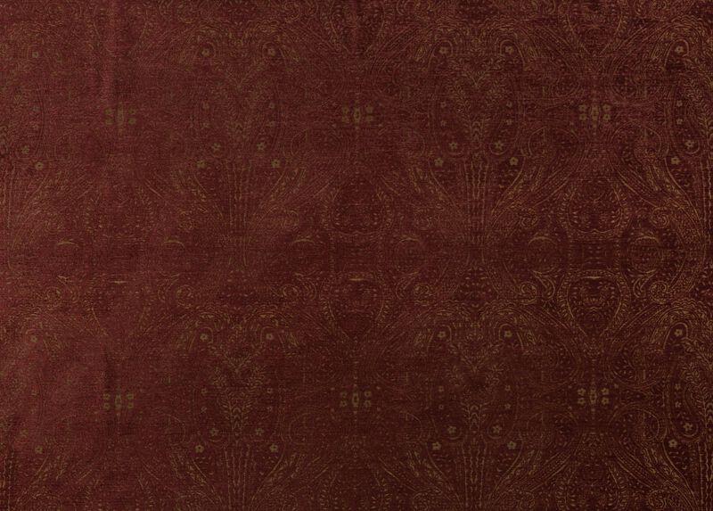 Regan Claret Fabric
