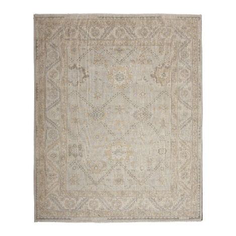 Heriz Rug, Gray/Ivory ,  , large