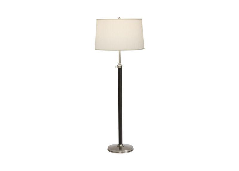 Ridgefield Nickel Floor Lamp