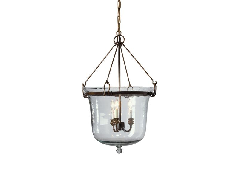 Glass Cloche Chandelier ,  , large_gray