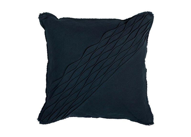 Diagonal Pleated Pillow