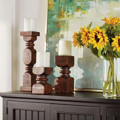 Charley Wood Candleholder Product Tile Hover Image 432403