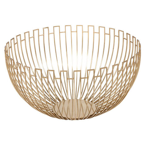 Brass Geometric Wire Bowl Product Tile Image geometricbowl