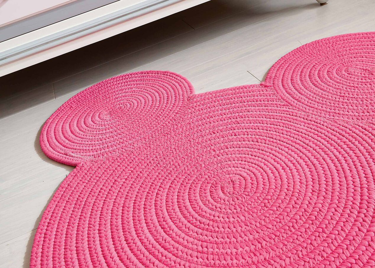 braided mickey rug | rugs | ethan allen