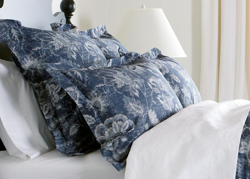 Monikka Blue Floral Sham ,  , large_gray
