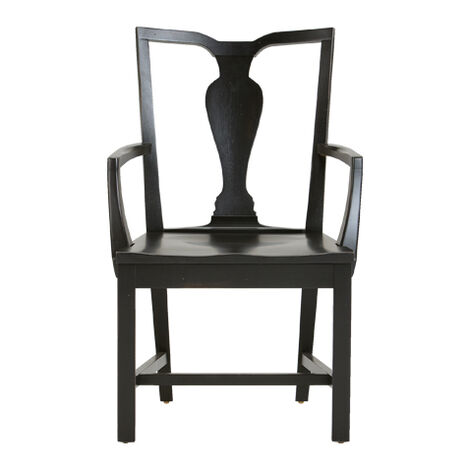 Maddox Wood-Seat Armchair Product Tile Image 156651A