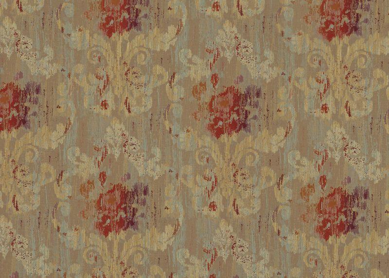Aura Crimson Fabric by the Yard