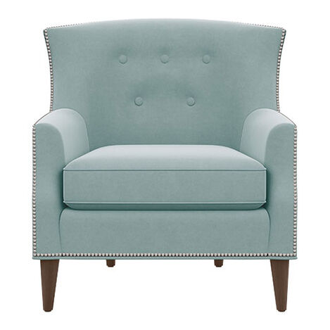 Juilliard Barrel-Back Wing Chair Product Tile Image 202516
