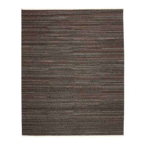 Wool Soumak Rug, Dark Gray ,  , large