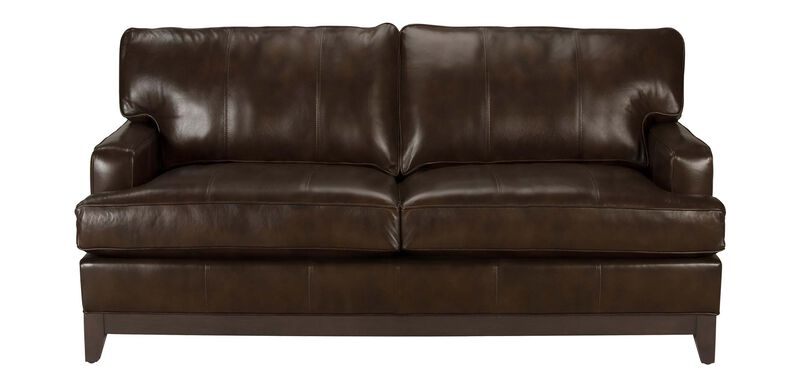 Arcata Leather Sofa, Quick Ship