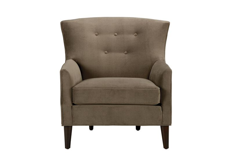 Juilliard Barrel-Back Wing Chair, Quick Ship