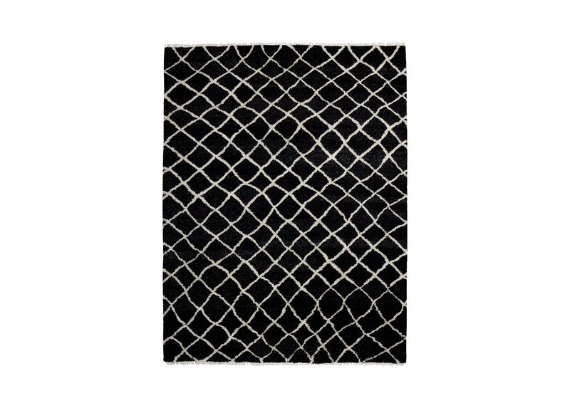 Coaxial Rug, Black/Ivory ,  , large_gray