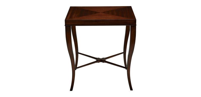 Gracie End Table, Dark Sable
