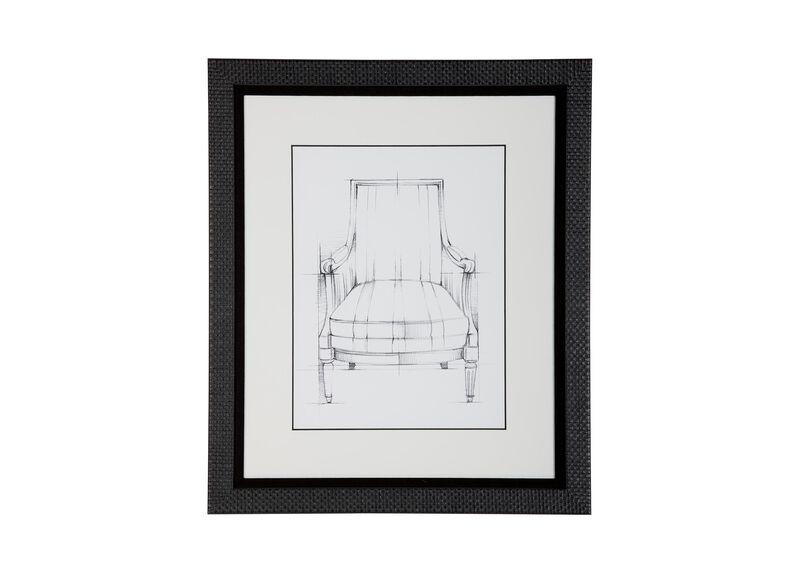 Historic Chair Sketch XII